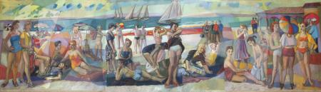Rannal (At the Beach), Erich Pehap E-kunstisalongis